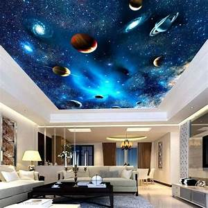 7, Cool, Space, And, Galaxy, Wall, Mural, Ideas