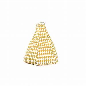 Pouf Jaune Moutarde : pouf jaune ~ Teatrodelosmanantiales.com Idées de Décoration