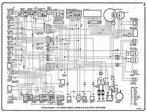 Cx500 Wiring Diagram  General