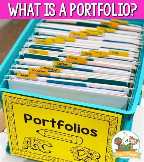 preschool portfolio ideas pre k pages 508 | what is a portfolio