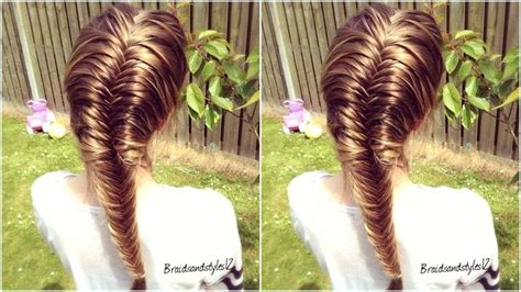 hair tutorial  show      fishtail