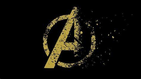 avengers endgame  logo disintegrating  nicksayan