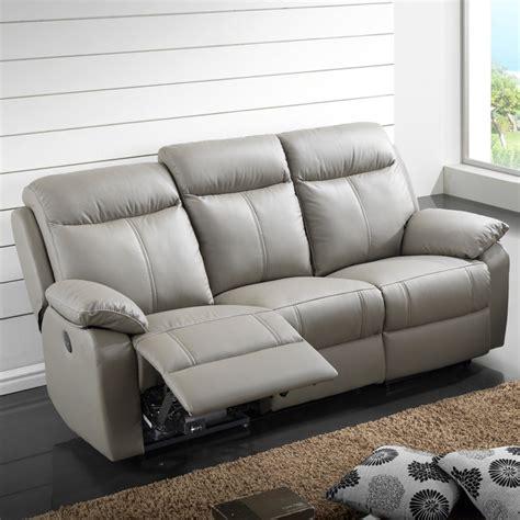 canapé relax électrique 3 places cuir vyctoire univers
