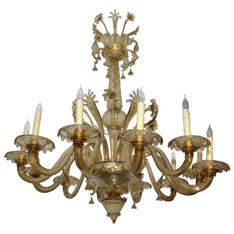 large 1930 1940 italian murano glass chandelier at 1stdibs