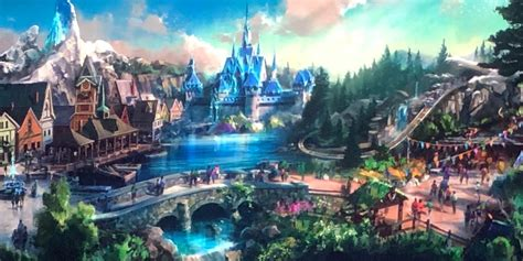 hong kong disneyland adding frozen themed land attractions