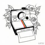 Dibujos Polaroid Drawing Drawings Dessin Camera Bonitos Simples Camara Tattoo Dibujo Desenhos Sencillos Blackwork Pencil Simple Dibujar Step Dessins Zeichnung sketch template