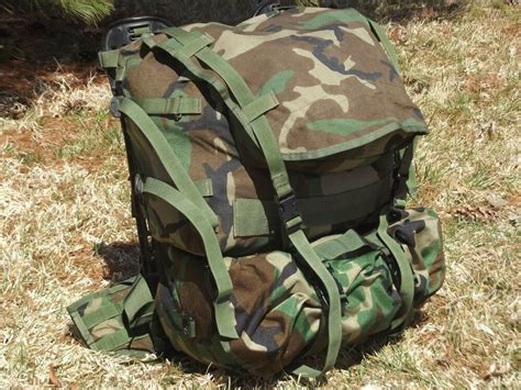 Molle Ii Woodland Camo Gi Standard Pack Army Military Pals