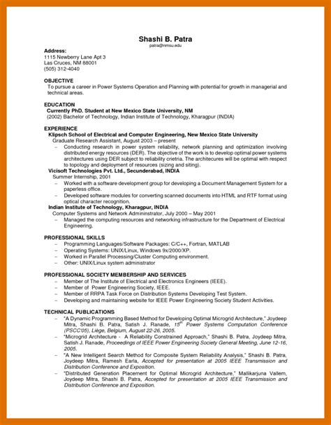 Resume Sles No Experience by 7 8 Resume For Models With No Experience Formatmemo