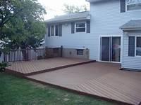 ground level deck plans Building A Wood Deck At Ground Level | Home Design Ideas
