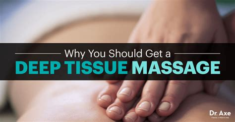 Deep Tissue Massage Benefits & Techniques - Dr. Axe