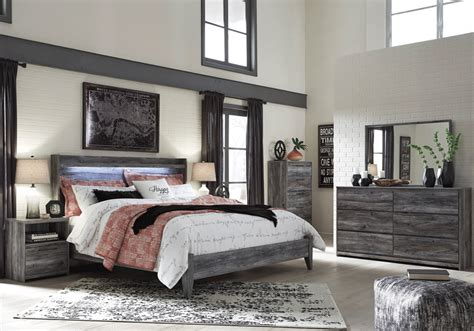 baystorm king panel bed louisville overstock warehouse