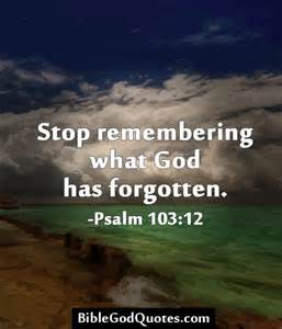 Forgiveness Bible Quotes About God