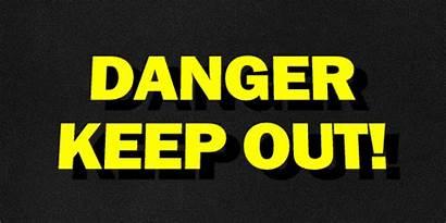 Danger Gifs Warning Keep Signs Nazino Island