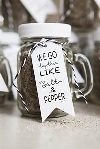diy salt pepper mason jar wedding favor craft the With salt and pepper wedding favors