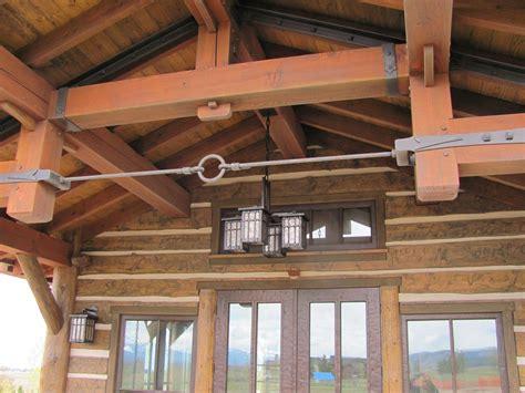handmade iron timber hardware  hellgate forge