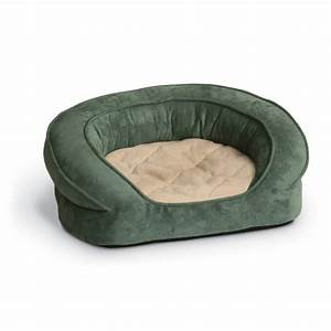 kh deluxe round ortho bolster sleeper large green paw With best orthopedic bolster dog bed