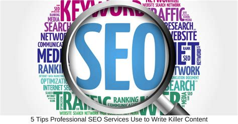 professional seo 5 tips professional seo services use to write