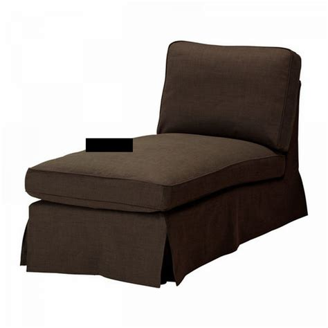 ikea chaise bar ikea ektorp chaise longue cover slipcover svanby brown