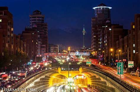 Tehran Streets at Night