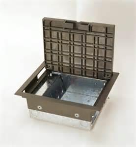 ac series raised floor box ac8104 by legrand