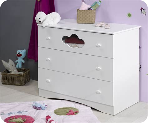 commode chambre blanche commode bébé altéa blanche achat vente commode à