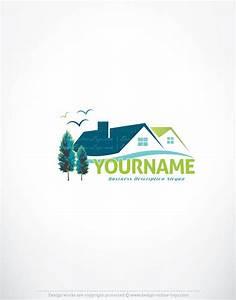 Exclusive Online Logos Store - Online House logo designs