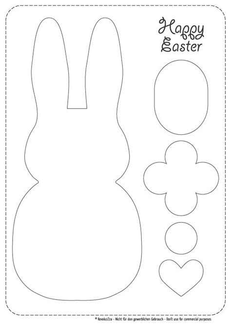 easter bunny cut out template 89047 17 best images about easter templates on pinterest