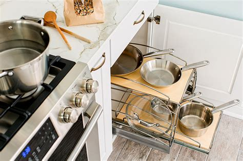 kitchen storage solutions for pots and pans storage solutions for your kitchen makeover 9837
