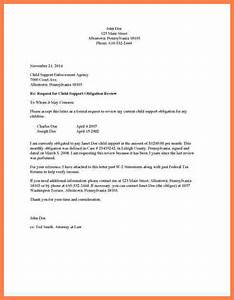 6  Child Support Letter Of Agreement Template