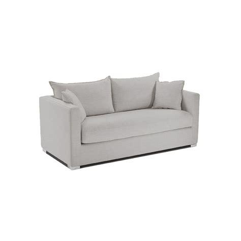 canapé passe partout canapé deux places pour petit espace lodj