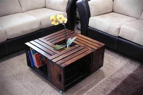 Wood Crate Coffee Table – Coffee Table : How To Build Crate Coffee Table Rustic Tables Crates Apple Instructions Wood Diy