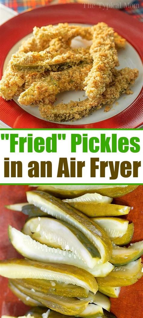 fryer air recipes dinner pickles fried appetizers dill ninja airfryer dinners recipe healthy paired bomb easy dip foodi oven breakfast