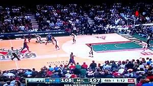 J.R. Smith clutch three point shot against the Bucks (game ...