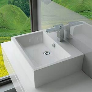 Waschtisch Für Gäste Wc : design keramik aufsatzwaschbecken waschtisch wandmontage f r badezimmer g ste wc a64 ~ Yasmunasinghe.com Haus und Dekorationen
