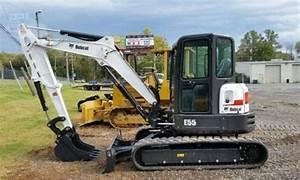 Bobcat E55 Compact Excavator Service Repair Manual  S  N