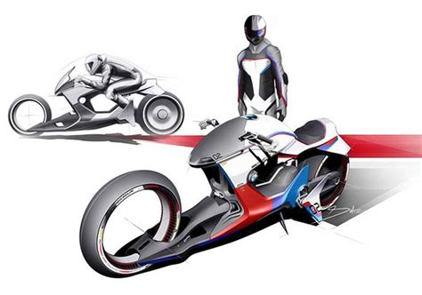 Uprising, a new light cycle design was created. BMW i Motorrad Beta R concept | wordlessTech