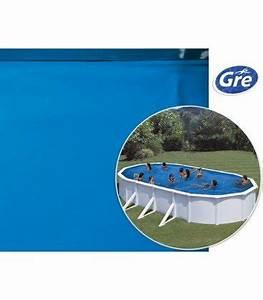 Liner Piscine Hors Sol Ovale : liner bleu 5 x 3 x 1 2 m gre pool pour piscine ovale ~ Dode.kayakingforconservation.com Idées de Décoration