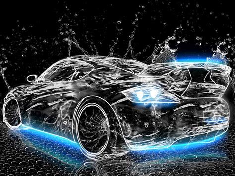 water neon car wallpapers gratis imagenes paisajes