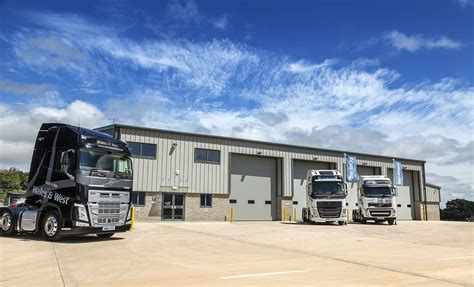 volvo trucks customer service truck bus wales and west open new build dealership at