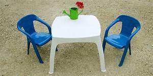 Salon De Jardin Pour Enfant : salon moghli avec une table enfant blanche et 2 chaises ~ Dailycaller-alerts.com Idées de Décoration