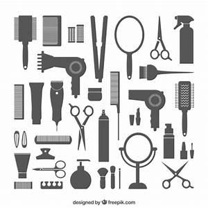 Friseurbedarf Download der kostenlosen Vektor