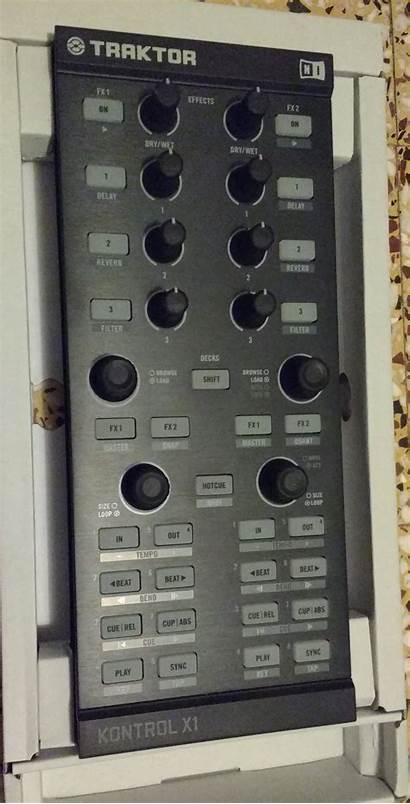 X1 Traktor Kontrol Instruments Native Audiofanzine
