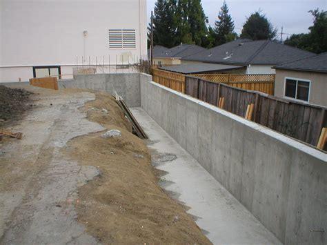 how to make concrete retaining wall concrete retaining walls design resume format download pdf