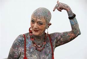 World's most tattooed female senior citizen Isobel Varley dies