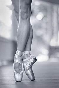 ballet, ballet dancer, ballet shoes, black and white ...