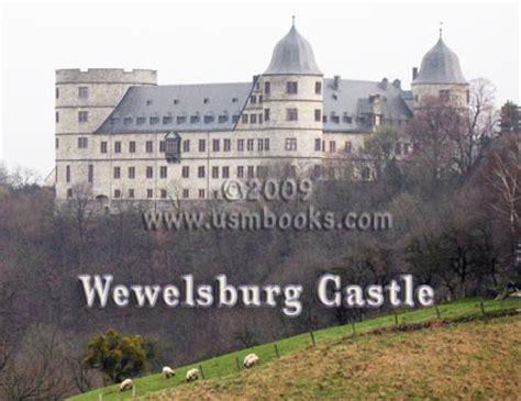 Ss Order Castle Wewelsburg History