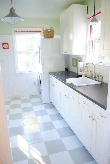painting vinyl kitchen floors how to paint vinyl floors modernize 4073