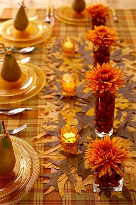 how to decorate a table for fall 25 beautiful fall wedding table decoration ideas style