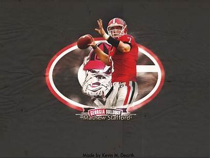 Georgia Bulldogs Matthew Stafford Lions Vlad Tanya