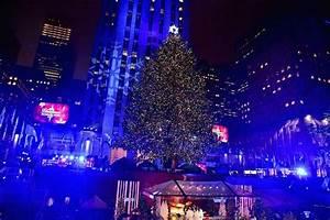 Tree Lighting In New York City 2017 Rockefeller Center Christmas Tree Lighting 2017 Where To